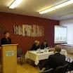 Pogány Erzsébet köszönti a konferencia résztvevőit