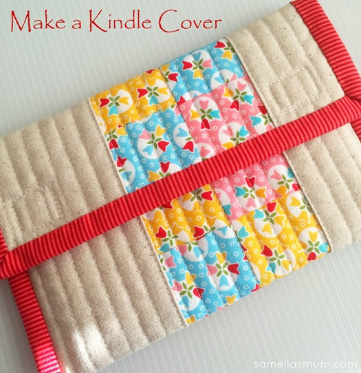 Make a Kindle Cover - Top