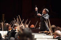 NJSO with Jacques Lacombe - credit Fred Stucker - 120607-0036