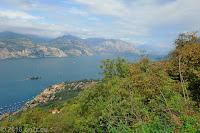 Von Assenza aus hoch zum Punta Veleno/Passo Telégrafo (1248m).