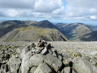 Great Gable Summit to Ennerdale