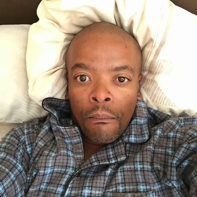 Trevor Gumbi is back home with a flu and decide to rest before his show tonight