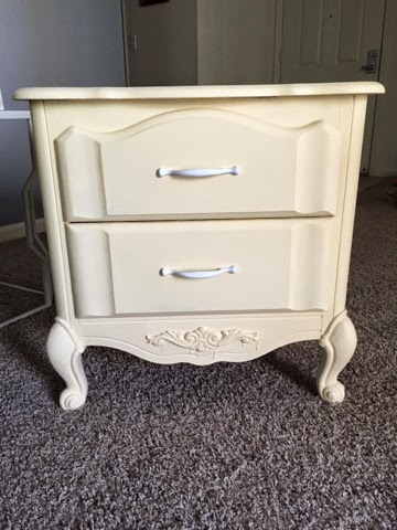 Bedside Table Chalk Paint