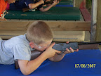 Learning to safely shoot BB guns is a fun learning activity