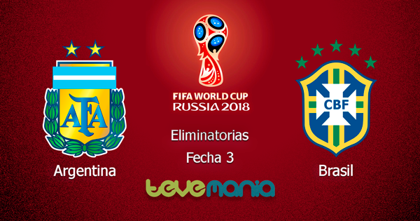 Argentina vs. Brasil en Vivo - Clásico en vivo por CMD - Rusia 2018