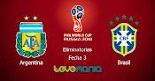 Argentina vs. Brasil - Clásico en Vivo por CMD - Rusia 2018