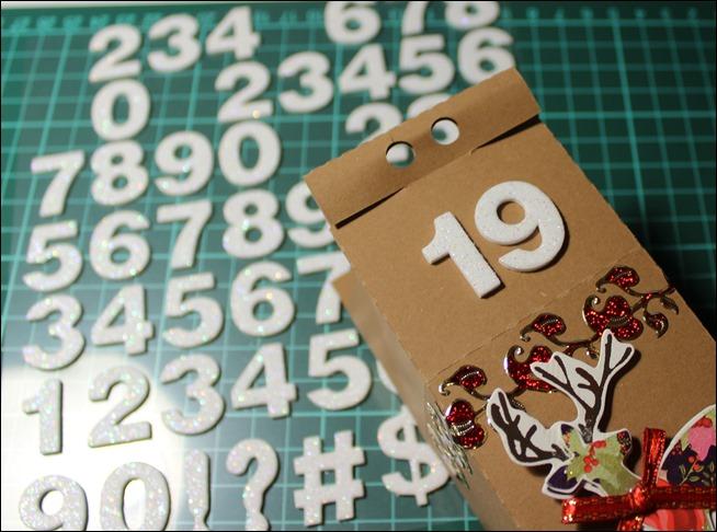 Adventskalender Idee DIY Milchkartons selbstgemacht Anleitung 24