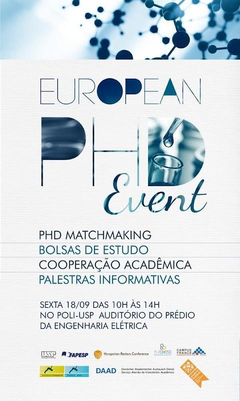 Flyer European PHD Event