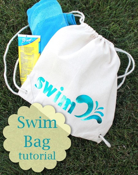 Swim Bag tutorial