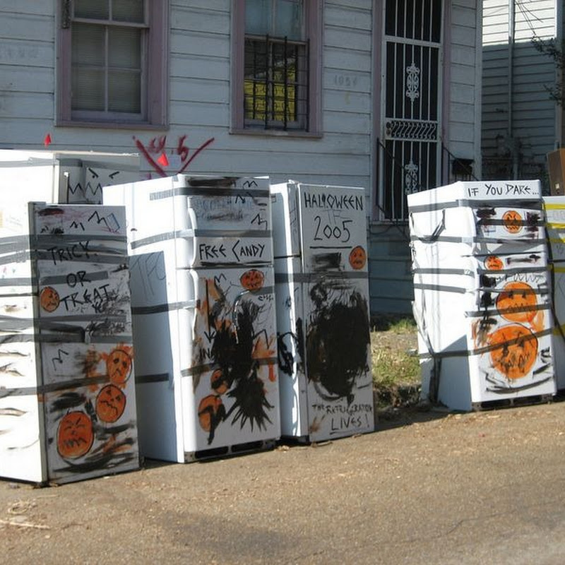 The Abandoned Refrigerators of Katrina
