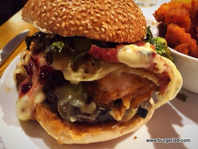 Solita 2015 Christmas Burger