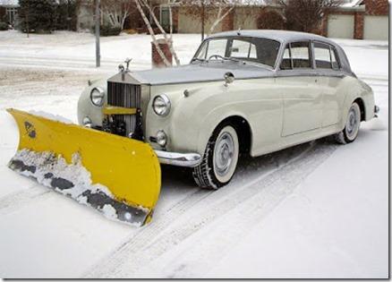 neat snow plow