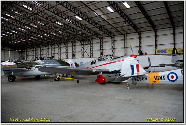 Classic Planes at Coventry Airbase - August