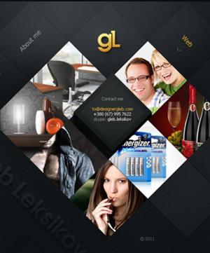 10 sitios web con elementos geométricos inusuales