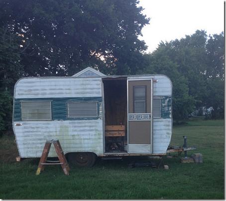 modified camper screen door