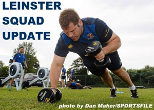 Leinster Squad Update