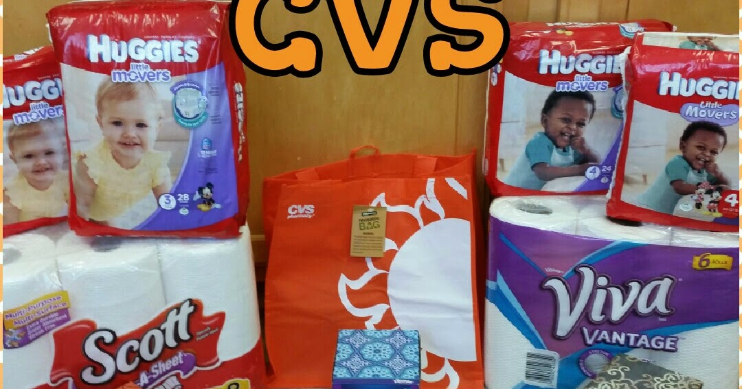 CVS Diapers & Paper Products <$13!