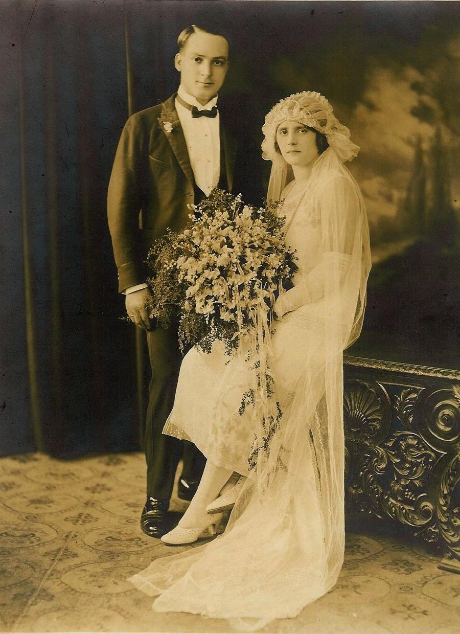 Vintage Wedding Photo!