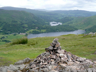 Silver How Summit with Grasmere and Rydal Water