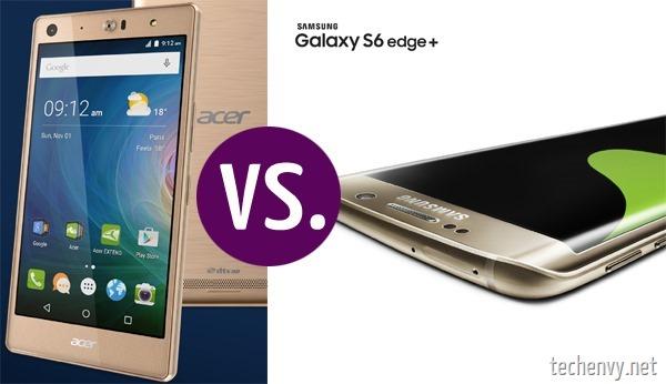 Acer vs Samsung smartphone