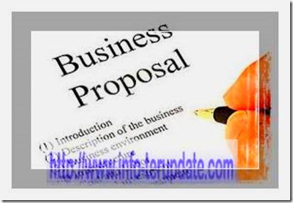 Cara Membuat Proposal Bisnis