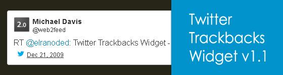 Twitter Trackbacks Widget - A jQuery Plugin