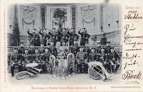 Musikcorps des Pommerschen Pionier Bataillons No. 2
