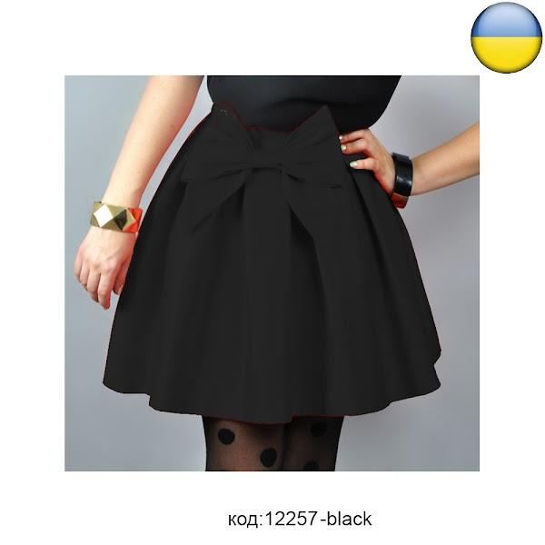 розово черная юбка из фатина