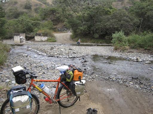 Fun roads and river crossings, Tactic to Salama, Guatemala
