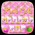 Free PinkGold GO Keyboard Theme APK for Windows 8