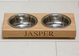 bespoke engraved cat bowls