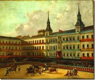 Fiesta real de toros en la Plaza Mayor de Rubio Villegas