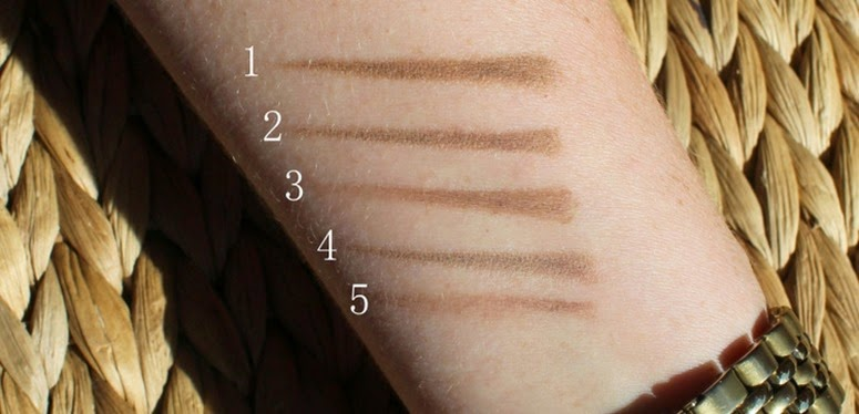 Brow-pencils-for-blondes-swatches