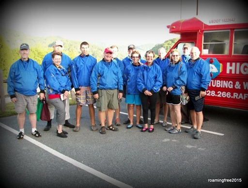 The Whitewater Rafting Group