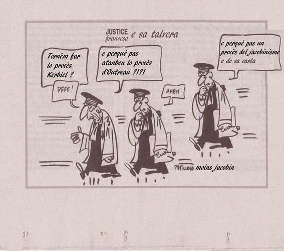 umor sobre la justícia francesa