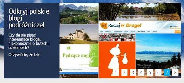 Ruszaj w Drogę na liście polskich blogów podróżniczych