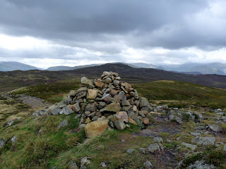 High Seat from Bleaberry Fell Summit