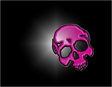 Plastic_Pink_Skull_by_Daemonika