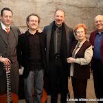 Artemio Milla, José Luis Ruiz del Puerto, Edoardo Catemario, Rosa Gil Bosque y Juan Grecos