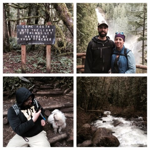 Wallace Falls hike, Pacific Northwest