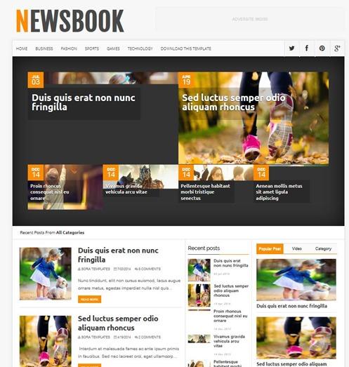 newsbook-template