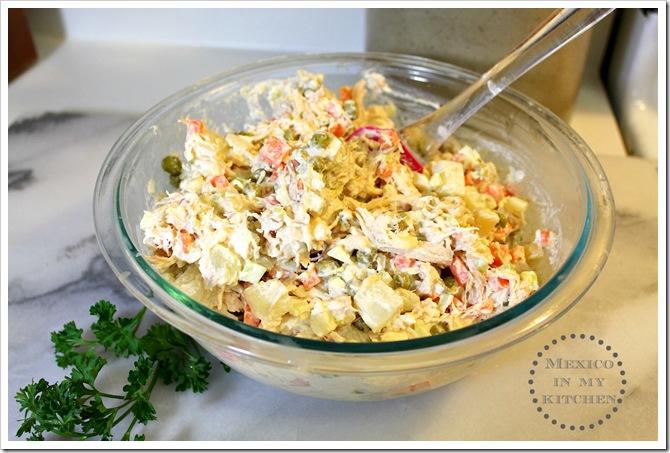 Mexican Chicken Salad9A