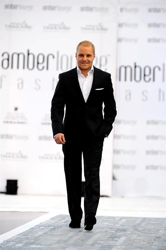 Вальтери Боттас на Amber Lounge Fashion Show на Гран-при Монако 2013
