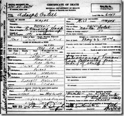 ORTELL_Adolph_death cert_1944_DetroitWayneMichigan