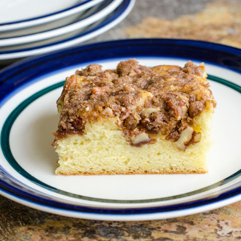 Coffee Cake with Pecan Streusel
