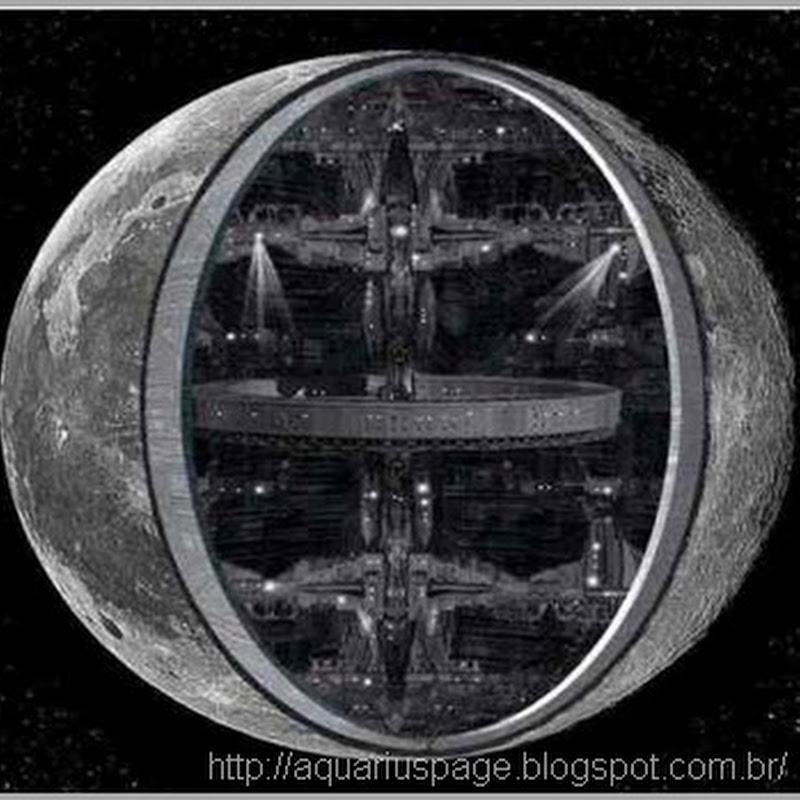 A Lua é oca e possivelmente uma Grande Nave Espacial Extraterrestre antiga