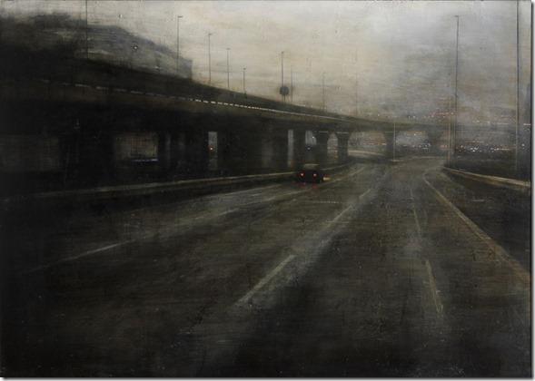 El puente negro-Alejandro-Quincoces-ENKAUSTIKOS