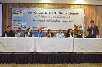 15° Fórum Estadual da UndineRN
