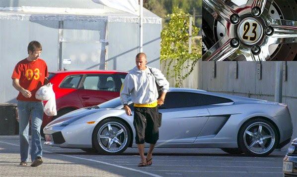 David Beckham Cars Collections 2013 14