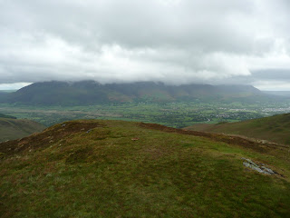 Skiddaw from Stile End Summit